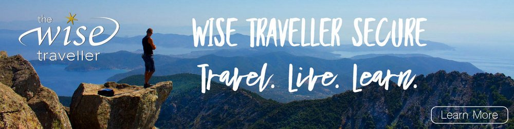 Wise Traveller Secure - Travel Live Learn - Join Now for your 20% Discount